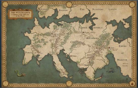 truthwitch map