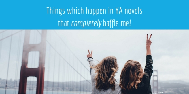 weird things in YA novels