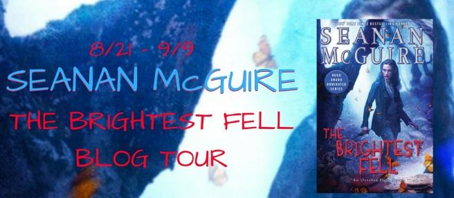 Brightest Fell Blog Tour banner